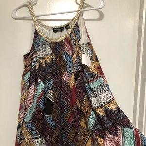 Nina Leonard tent dress